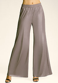 bebe High Rise Wide Leg Pants