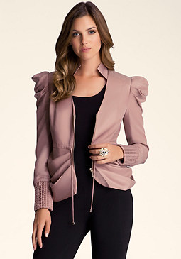 bebe Darling Draped Jacket