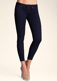 Low-Rise Skinny Jeans at bebe