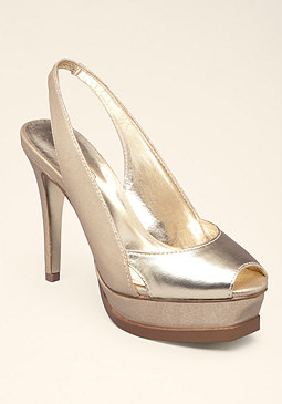 bebe Zahara Sling Back Pumps