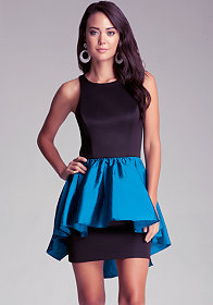 bebe Taffeta Dress