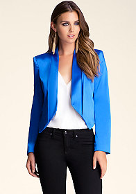 Twist Hem Shawl Jacket at bebe