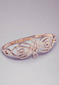 Filigree Inspired Hand Cuff at bebe