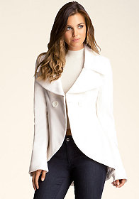 bebe Tulip Trench Coat