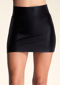 bebe High Waist Party Mini Skirt