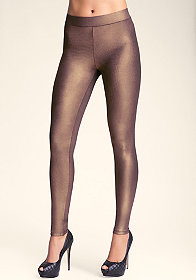 Basic Shimmer Legging at bebe
