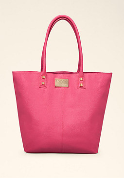 bebe Sting Ray Oversized Tote