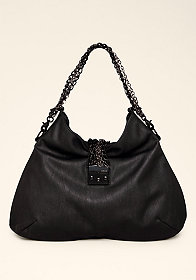 bebe Chain Hobo Purse