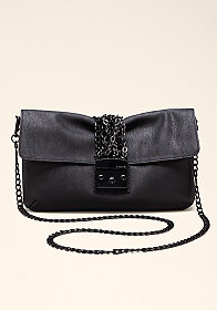 bebe Chain Clutch Bag