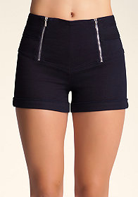 High Waist Sailor Shorts at bebe