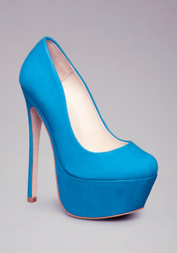 bebe Bethany Closed Leather Pumps