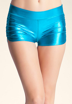 bebe Ruched Boy Shorts