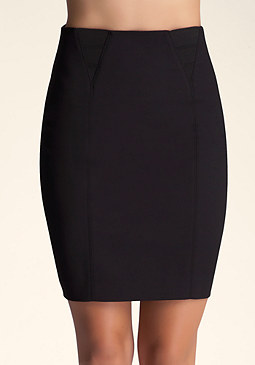 bebe High Waist Band Skirt