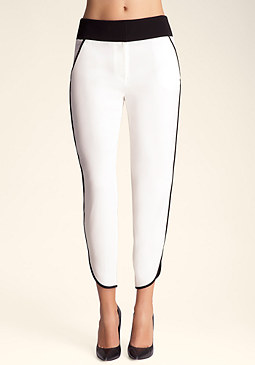 bebe Color Block Pants