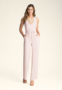 Petite Kelly Zip Jumpsuit at bebe