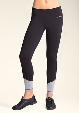 bebe Mesh Colorblock Leggings