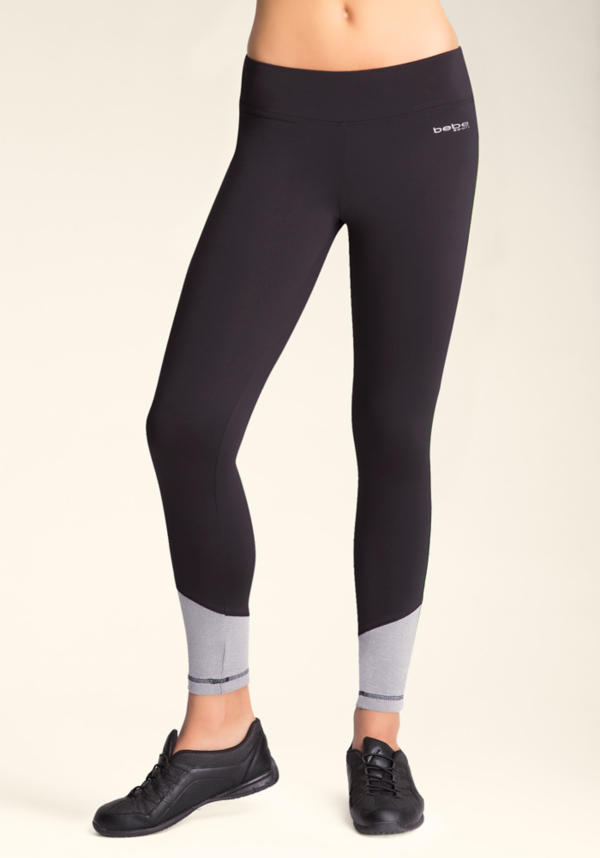 Mesh Colorblock Leggings
