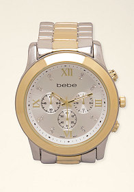 bebe Large Boyfriend Watch