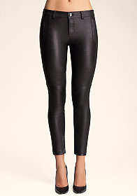 bebe Leather Legging