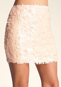TEARDROP MINI SKIRT at bebe
