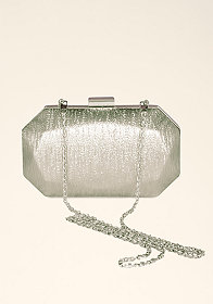 Bella Metallic Minaudiere at bebe