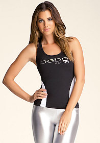 Sport Colorblock Tank at bebe