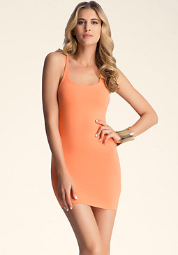 Twist Racerback Dress at bebe