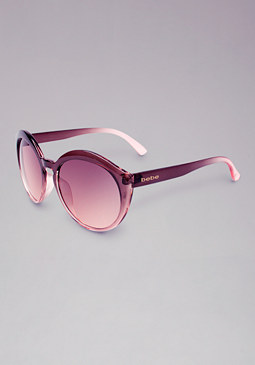 bebe Imagine Round Sunglasses