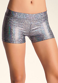 Sport Iridescent Boy Shorts at bebe
