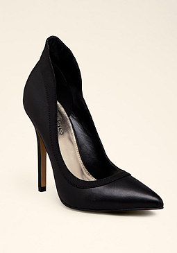 bebe Kara Scuba Detail Pumps