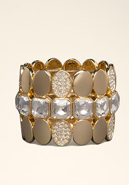 CIRCLE & STRETCH BRACELET at bebe
