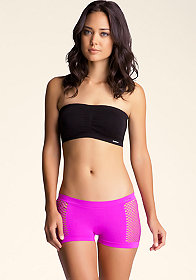 bebe Tubular Bandeau Top
