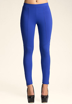 bebe Ankle Zip Legging