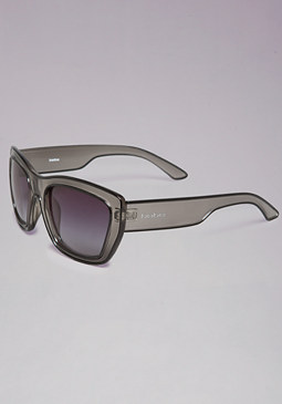bebe Illusion Lucite Sunglasses