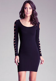 bebe Slash Sleeve Dress