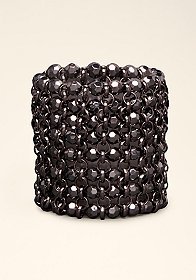 bebe Beaded Stretch Bracelet