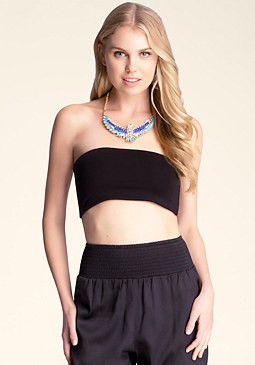 bebe Open Back Bandeau