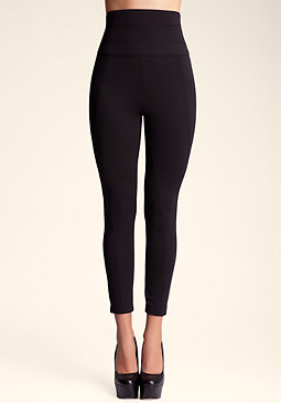 bebe High Waist Scuba Legging