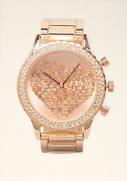 Ombre Rock Crystal Watch at bebe
