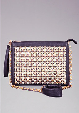 bebe Glam Crossbody Purse