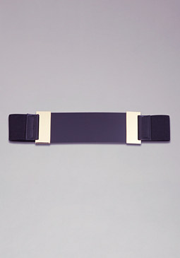 bebe Lucite Band Stretch Belt