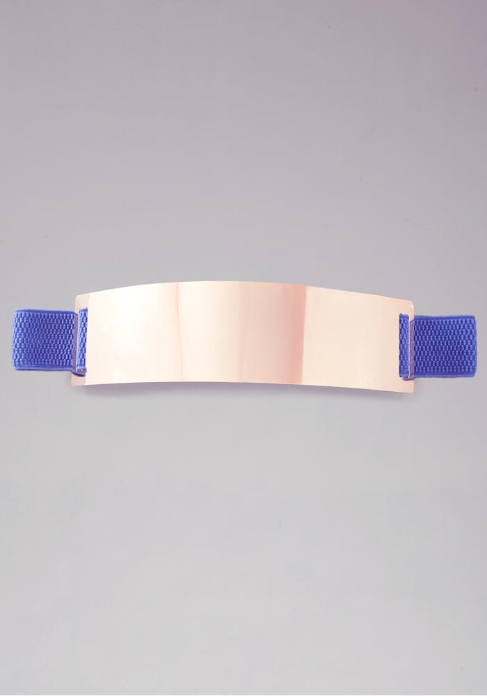Metal Plate Stretch Belt