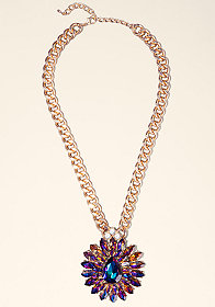 bebe Floral Inspired Necklace