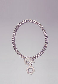bebe Chainlink Toggle Bracelet