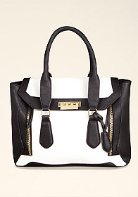 Serene Zipper Tote at bebe