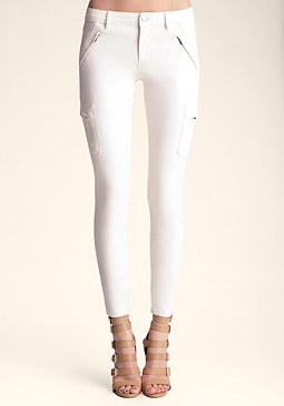 bebe COATED CARGO SKINNY ����������