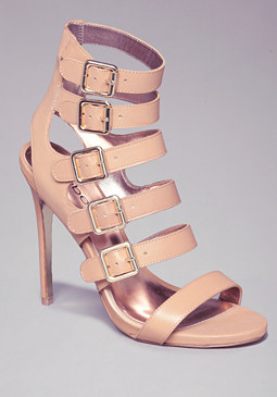 Raya Multi-Buckle Sandals at bebe