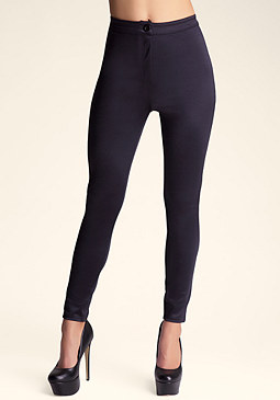 High Waist Slither Pants at bebe