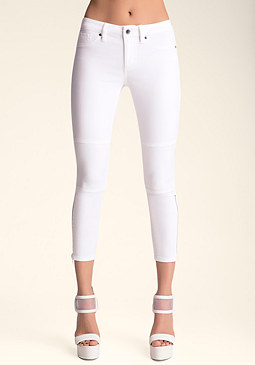 Sophia Crop Zip Pants at bebe