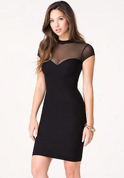 bebe Jen Sweetheart Dress